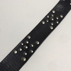 Calvin Klein Accessories - Calvin Klein Studded Leather belt